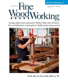 Woodworker John Tetreault shows you how to build a Roubo workbench with a timber-frame soul, step-by-step in this Video Workshop series. Includes Roubo workbench plans, and guided instructions for making a Roubo style woodworking bench at home. Woodworking Equipment, Woodworking Bench, Fine Woodworking, Woodworking Projects, Woodworking Magazine, Wood Projects, Woodworking Nightstand, Woodworking Chisels, Woodworking Basics