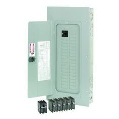 Eaton / Cutler Hammer BR3030BC100 Main Circuit Breaker Load Center 100 Amp 120/240 Volt AC 1 Phase 30 Space 30 Circuit 3-Wire Flush/Surface