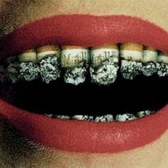 Cigarro e os dentes