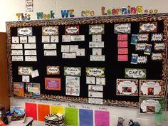 First Grade Critter Cafe': Teacher Evaluation Day!