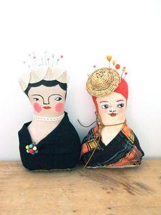 Soft sculpture display doll primitive folk by JessQuinnSmallArt, £37.50
