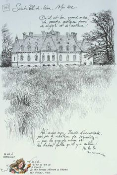 art journal, sketchbook, urban sketchers, travel diary - suitte-1696.JPG / Yann Lesacher