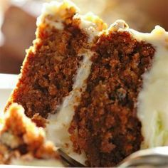 Wow, I have never tried a carrot cake, but this was truly good! Click for recipe