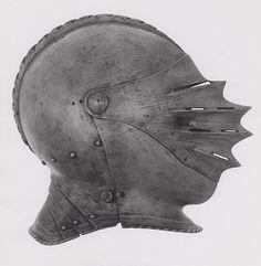 German    Close Helmet, c. 1530    Steel  H. 21.6 cm (8 1/2 in.)