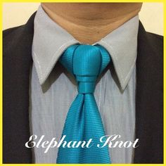 The Elephant Knot - Be Wylde #NeckTies