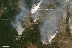 Evolution of Pyrocumulus over California : Image of the Day