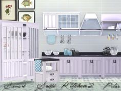 classic kitchen  Found in TSR Category 'Sims 4 Kitchen Sets'