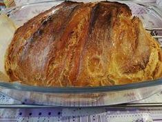 Hűtőben kelt kenyér recept lépés 10 foto