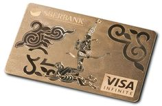 Visa's first jewel-encrusted solid gold card..available to a select few...