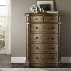 Hooker Furniture Solana 6 Drawer Chest - Natural - 5291-90010