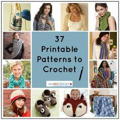 37 Popular Printable Crochet Patterns