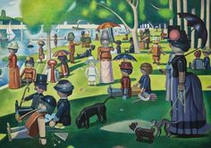 Playmobil Paintings by Pierre-Adrien Sollier | Inspiration Grid | Design Inspiration