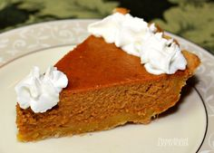 a slice of homemade pumpkin pie topped with whip cream. a slice of homemade pumpkin pie topped with whip cream. Best Pumpkin Pie Recipe, Perfect Pumpkin Pie, Homemade Pumpkin Pie, Pumpkin Spice, Thanksgiving Recipes, Holiday Recipes, Thanksgiving 2020, Avocado Salad Recipes, Pie Tops