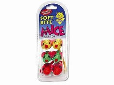 6 Sisal Mice Soft Bite Cat Toys *** More info could be found at the image url.(This is an Amazon affiliate link and I receive a commission for the sales)