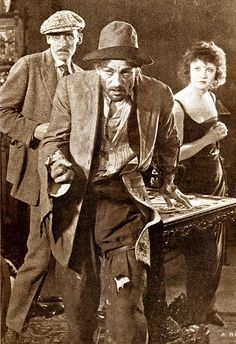 """""""The Miracle Man"""" (1919), a dual role.     See more at: https://www.facebook.com/LonChaneySrManOf1000Faces"""