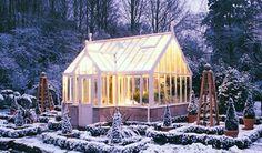 Garden room glass house