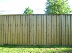 Hit and Miss Fence Panels