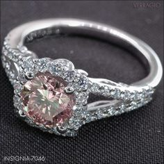 Pretty engagement ring ideas.