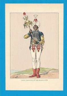 France -Planche de JOB - 1799.57ème Demi-Brigade.Chapeau Chinois. | Collections, Militaria, Documents, revues, livres | eBay!