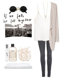 """Sin título #330"" by iwanttobefamous ❤ liked on Polyvore featuring 7 For All Mankind, Amen, MANGO, Elementem Photography, philosophy, Stila and Michael Kors"