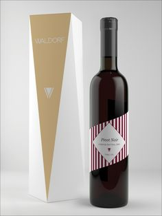 Waldorf Wine on Packaging of the World - Creative Package Design Gallery