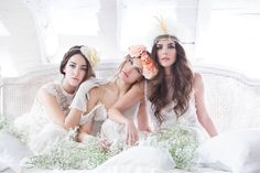 Moda #vintage en novias. De la firma @immacle. Con sede en Barcelona. Foto de @carmelofotgrafo