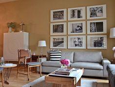 Living room via little brown pen