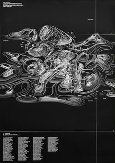 Creative Design, Graphic, Waves, Poster, and Map image ideas & inspiration on Designspiration Information Design, Information Graphics, Cover Design, Gfx Design, Plakat Design, Joy Division, The Design Files, Grafik Design, Data Visualization