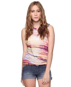 heritage 1981  sunset graphic top  i like this one :]