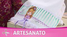 Vida com Arte | Toalha com pintura em tecido por Mônica Faria - 13 de Ma...