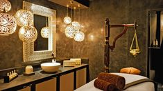 B/Attitude Spa - Treatment Room At Grosvenor House Dubai