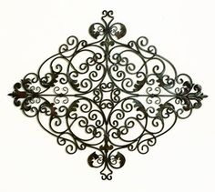 Metal Gate Wall Decor aubrianna arched faux window wall art | wall art, brown and window