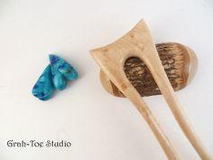 Hair Fork Hairforks Grahtoe Studio Handmade 2 by grahtoestudio