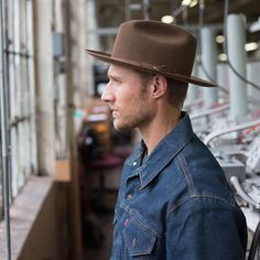 The Stetson ROYAL OPEN ROAD. In the Stetson hat factory in Texas