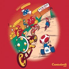 Camiseta 'Bike Cup' - Catalogo Camiseteria.com
