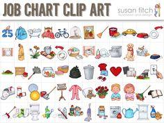 Chore Schedule Clipart