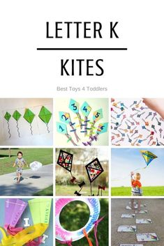 Best Toys 4 Toddlers - Ideas for week of playful learning activities with kites (tot school and preschool) Kites For Kids, Fun Crafts For Kids, Letter K Kite, Learning Activities, Preschool Activities, Kites Craft, Kite Making, Best Toddler Toys, Kids Toilet