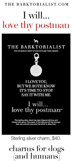 """THE BARKTORIALIST CHARM 