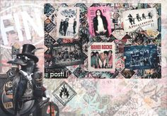 FINLAND FDC FINNISH ROCK 2015 - Hanoi Rocks - HIM - Apocalyptica - Nightwish
