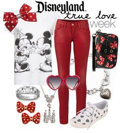 """Disneyland True Love Week"" by princesschandler on Polyvore"