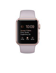 Apple Watch Sport 38mm Rose Gold Aluminum Case with Lavender Sport Band Apple http://www.amazon.com/dp/B0157LQTX8/ref=cm_sw_r_pi_dp_-tCDwb1NJRFFS