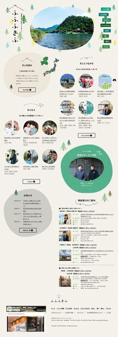 ふふふぎふ 岐阜県 移住・定住ポータルサイト Website Layout, Web Layout, Layout Design, Web Japan, Beautiful Web Design, Chinese Design, Japan Design, Interface Design, Illustrations And Posters