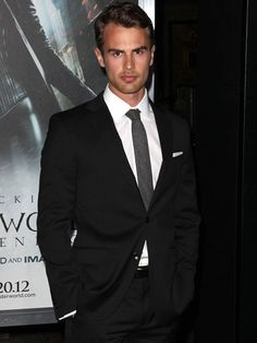 Theo James. My new vote for Christian Grey