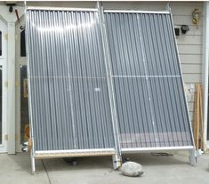 Side by side solar air heating collector testing. - from Dad... must read this, there's a LOT here!!!