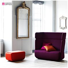 a sofa and a chair like colorful beach baskets - deco and design, Sofa Design, Furniture Design, Beach Basket, Banquettes, Multifunctional Furniture, Lounge Sofa, High Quality Furniture, Upholstered Furniture, Modern Sofa