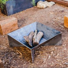 The Fin Fire Pit