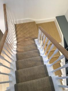 Sisal Carpet to Stairs in West London