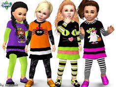 Toddler Halloween Dress by Wimmie - Sims 3 Downloads CC Caboodle