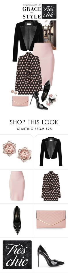 """STYLE AND GRACE"" by shortyluv718 ❤ liked on Polyvore featuring Yves Saint Laurent, Winser London, Lanvin, Sasha, Oliver Gal Artist Co. and happybirthday"