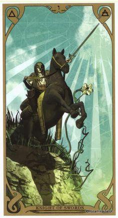Knight of Swords - Night Sun Tarot - Rozamira Tarot - Picasa-Webalben